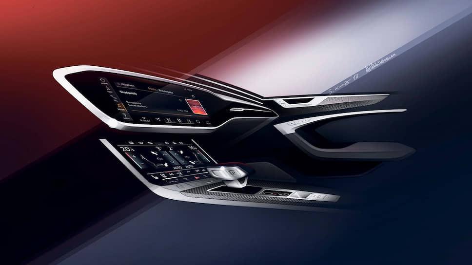 Платформа электронного шасси ECP контролирует систему динамического управления колесами. Водитель может поменять настройки подвески с помощью системы Audi drive select, выбрав один из режимов движения – фиксированных, от максимально комфортного до спортивного, и настраиваемого индивидуально. Для 55 TFSI quattro доступна опция «усиленная подвеска»