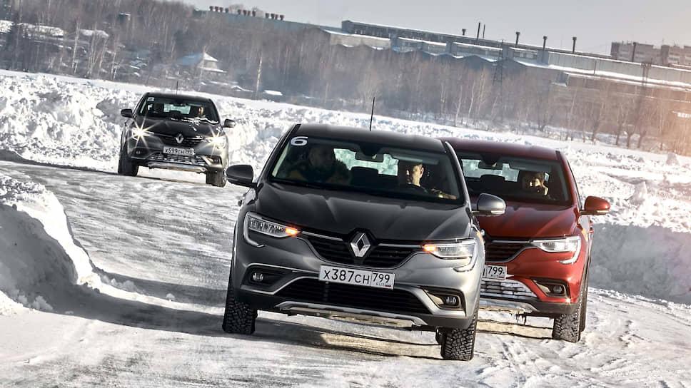 Одним из преимуществ Renault Arkana является на удивление притягательный внешний облик. Автомобилю непостижимым образом удается без всяких противоречий сочетать легкомысленную яркость и деловую солидность вне зависимости от выбранного цвета кузова. Тем более что выбирать предстоит из семи вариантов цветового оформления.