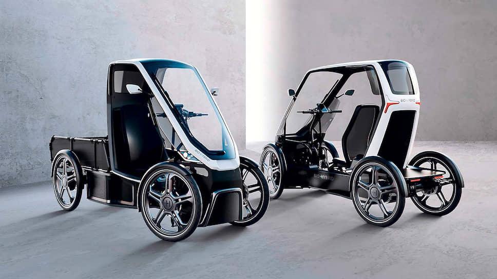 Благодаря небольшим габаритам Bio-Hybrid может перемещаться как по обычным дорогам, так и по велосипедным дорожкам и тротуарам.