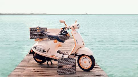Римские каникулы // Vespa 946 Christian Dior
