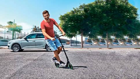 Последняя миля // Skoda Scooter