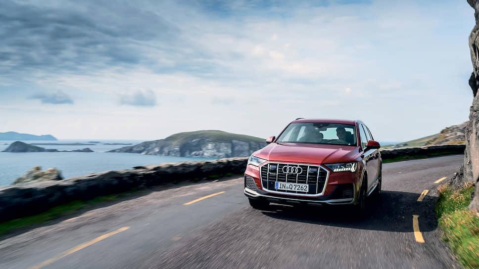 Постоянный полный привод quattro для Q7 – стандарт, как и выбор любого из семи режимов движения. Система Audi drive select изменяет настройки спортивной пневмоподвески и величину дорожного просвета.