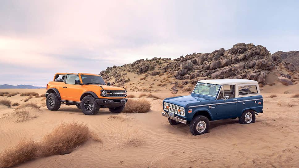 На старте продаж Ford Bronco предлагается с двумя бензиновыми моторами мощностью 274 и 314 лошадиных сил.