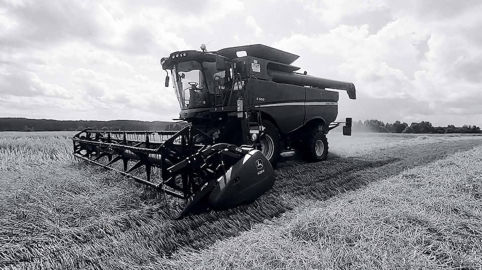 Автономный комбайн с Cognitive Agro Pilot убирает пшеницу в Тамбовской области. Август 2020 года.
