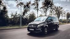 Родина и окрестности  / Mercedes-Benz V-Класса перестраивает маршрут