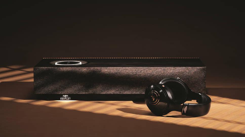 Наушники Focal for Bentley Radiance идеально подходят как для путешествий, так и для повседневного использования. В комплекте с ними идут дополнительные принадлежности, в том числе выполненный на заказ футляр для переноски, отделанный тем же тканым материалом, что и защитная сетка динамика Naim для Bentley Mu-so Special Edition.