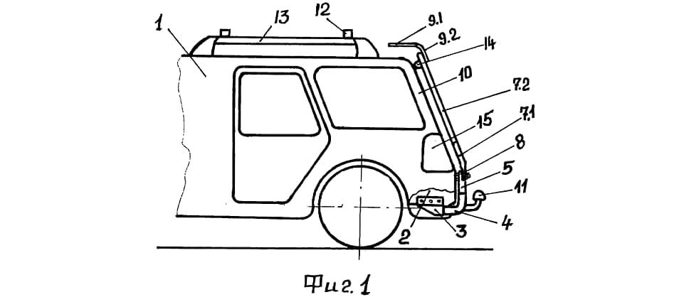 Изобретение называется «способ и устройство защиты задка легкового автомобиля от загрязнений». Собственно, почему бы и нет? Мы же с вами когда-то запаивали пульты от телевизоров в пластиковые пакеты.