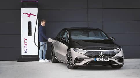 Электрика вызывали?  / Mercedes-Benz EQS