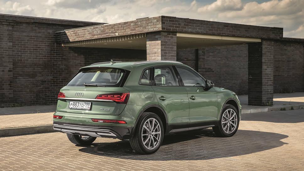 Присел – отжался. Все новые Q5 оборудованы системой Audi drive select, которая, например, позволяет опустить заднюю часть автомобиля на 5,5 см, чтобы было удобнее загружать багажник.