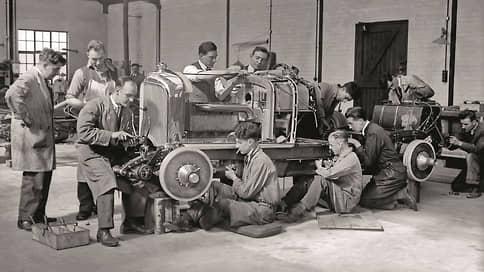 Работа без перекуров // 1930 Bentley 4½ Litre и постановочная съемка в цеху