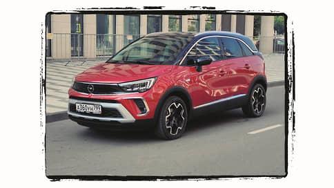 Opel Crossland 1.2 Turbo // Тульская область, август 2021