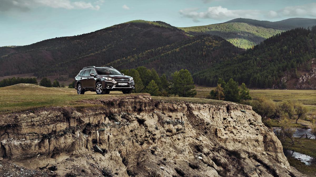 Subaru Outback на «вечной дороге»