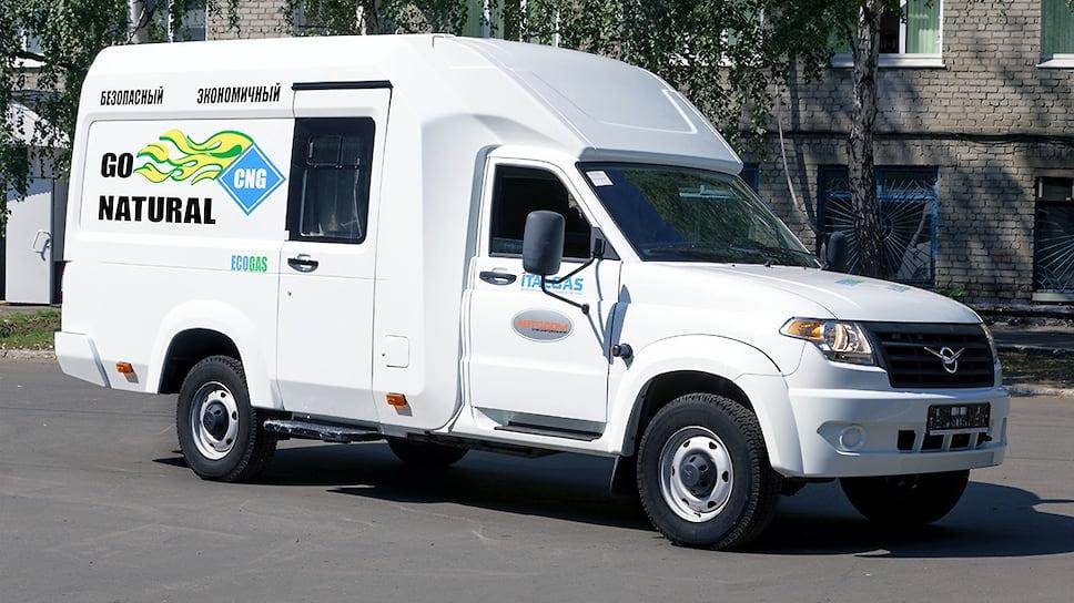 УАЗ выпустил семейный автомобиль набазе «Профи»
