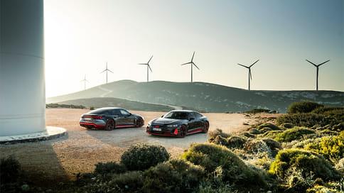 Audi начала серийный выпуск электромобиля e-tron GT