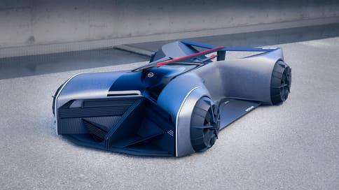 Nissan показал прототип GT-R для 2050 года