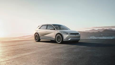 Hyundai показала серийный электромобиль Ioniq 5