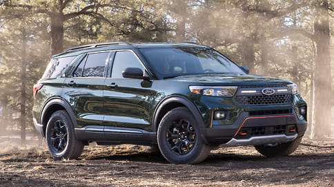Ford представил внедорожный вариант нового Explorer