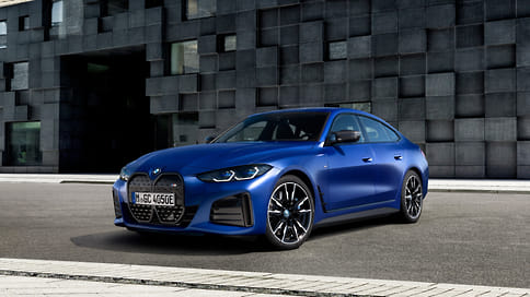 BMW показала заряженный электромобиль i4 M50