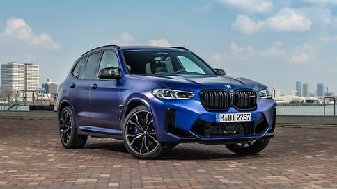 BMW обновила заряженные кроссоверы X3 M и X4 M
