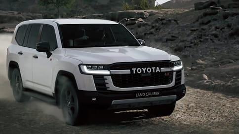 Новый Toyota Land Cruiser 300 получит спортивную версию