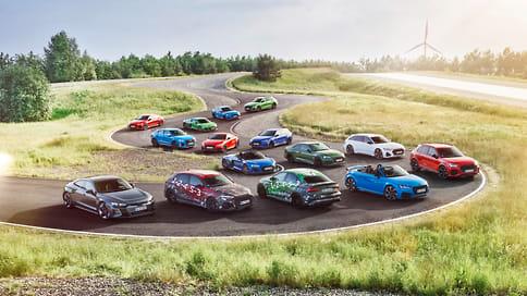 Audi анонсировала новое поколение заряженных RS3