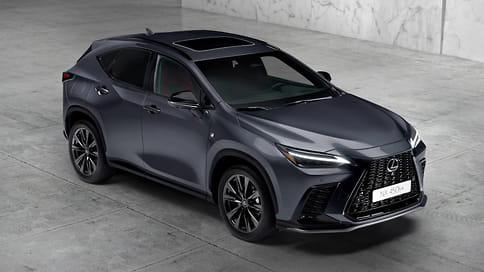Lexus презентовал новое поколение кроссовера NX