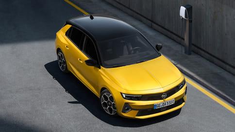 Opel показал новое поколение хэтчбека Astra
