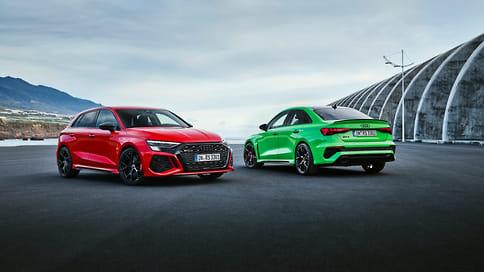 Audi показала новое поколение седана и хэтчбека RS3