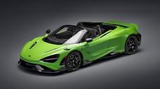 McLaren представил лимитированный кабриолет 765LT Spider