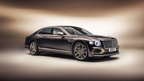 Гибридный Bentley Flying Spur получил специальную версию