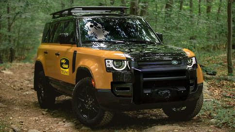 Land Rover посвятил новый Defender модели Works V8 Trophy