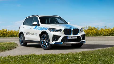 BMW показала предсерийный кроссовер iX5 Hydrogen