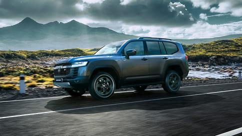 В России появился спортивный Toyota Land Cruiser 300 GR Sport