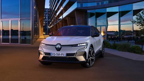 Renault представил серийный электромобиль Megane E-Tech Electric