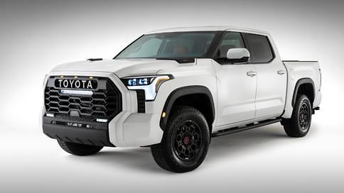 Toyota представила новое поколение пикапа Tundra