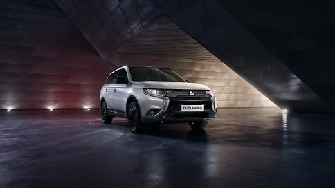 Mitsubishi вернула Outlander Black Edition на российский рынок