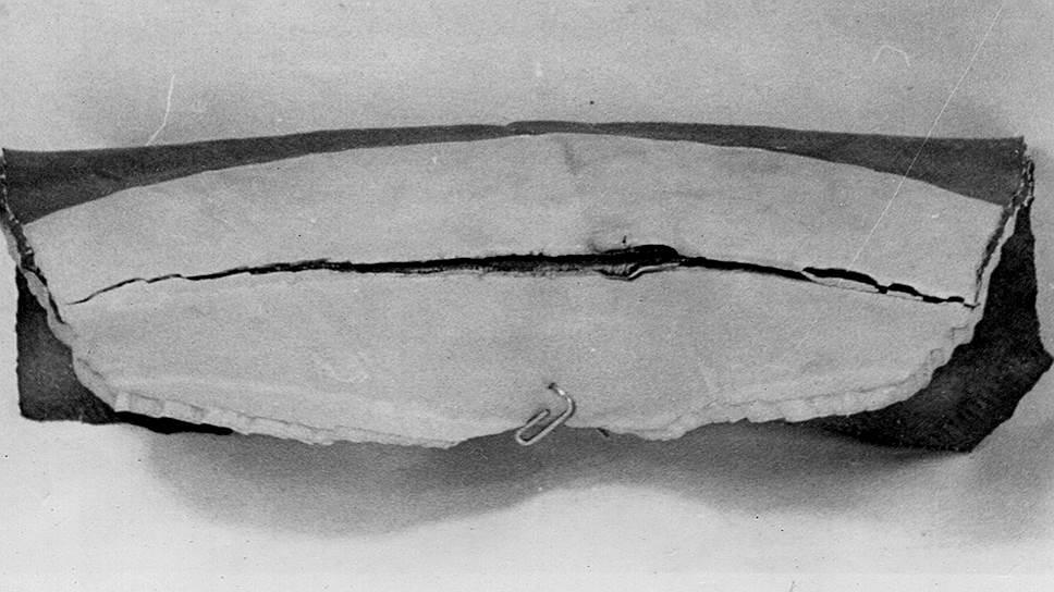 Разрыв камеры по бандажной части, случившийся на государственных испытаниях ЗИС-110С в 1947 году