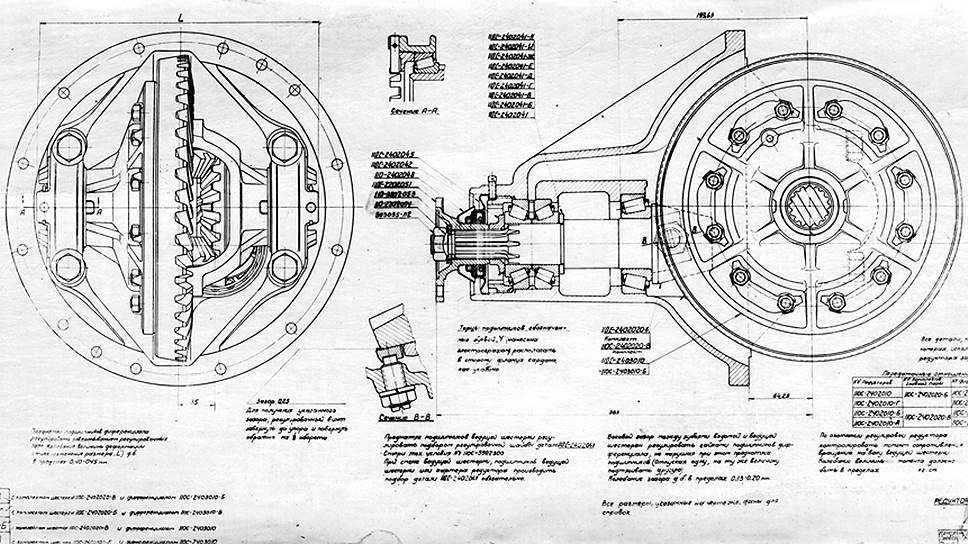 При производстве бронированных ЗИСов использовались карданные передачи и комплектные задние мосты разгруженного типа от американского полуторатонного грузовика Dodge-WF32, поставлявшегося к нам по Ленд-Лизу
