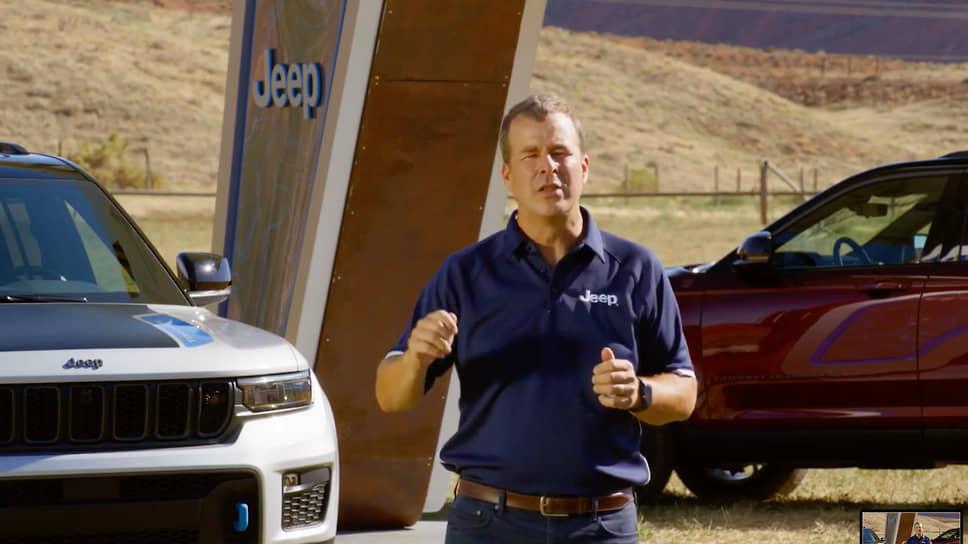 Джим Моррисон, вице-президент Jeep North Americ