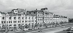 Политехнический музей в 1969 году с липами. Они все погибли
