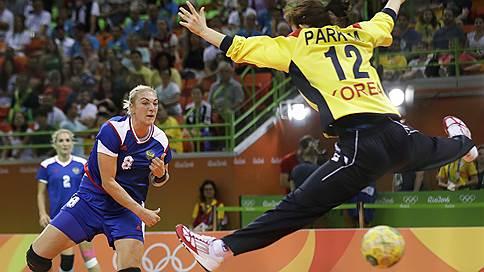 Сборная России берет мяч в свои руки  / Она смогла разгромить кореянок, почти безнадежно проигрывая по ходу матча