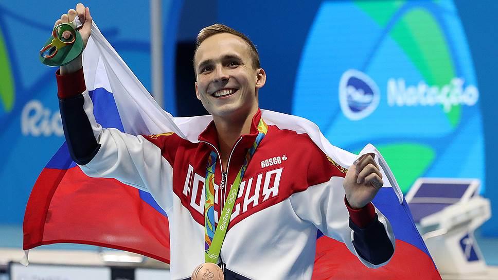 Брасс, два — взяли! / Вторую медаль пловцы выиграли почти там же, где и первую