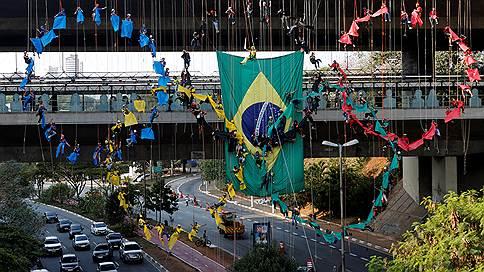 Не Рио-де-Жанейро  / Вид на Олимпиаду с окраины Сан-Паулу
