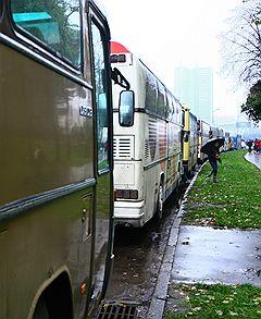 В Москве появился первый автобус с Wi-Fi