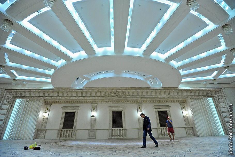 Подземный концертно-репетиционный зал