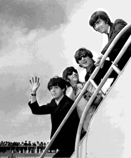 После выступлений в США The Beatles обрели популярность во всем мире<br>На фото слева направо: Пол Маккартни, Ринго Старр, Джон Леннон и Джордж Харрисон
