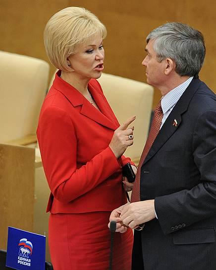 Первый заместитель председателя комитета Государственной думы по охране здоровья Татьяна Яковлева