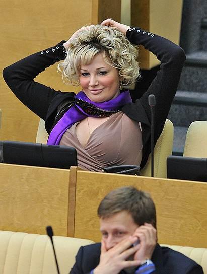 Член комитета Государственной думы по культуре Мария Максакова