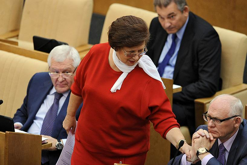 Бывший заместитель председателя комитета Государственной думы по регламенту и организации работы ГД Светлана Горячева