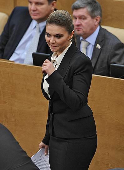 Бывший член комитета Государственной думы по физической культуре, спорту и делам молодежи Алина Кабаева
